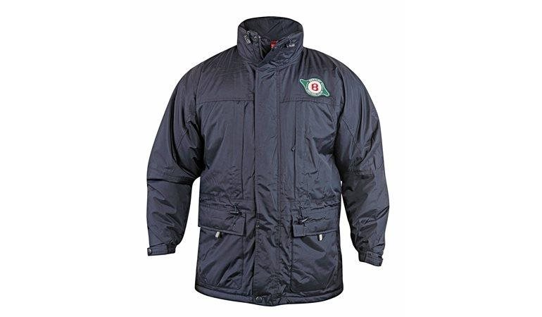 Winter Coat fully waterproof with Club Logo