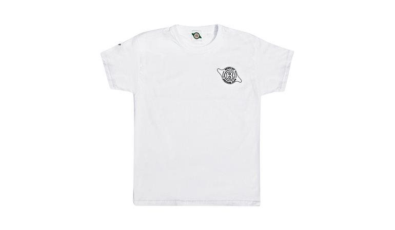 Childs White T-Shirt - Bentley Wings and Club Logo
